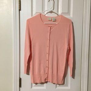 Merona peach sweater.